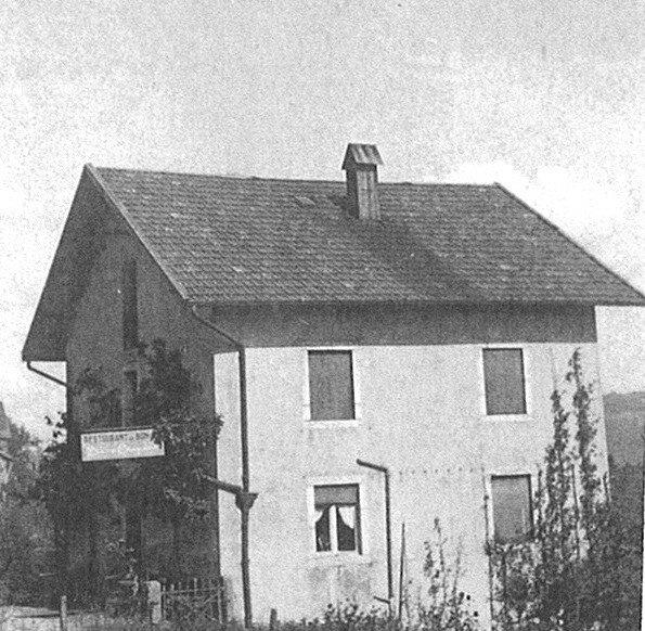 ancienne photographie de la maison