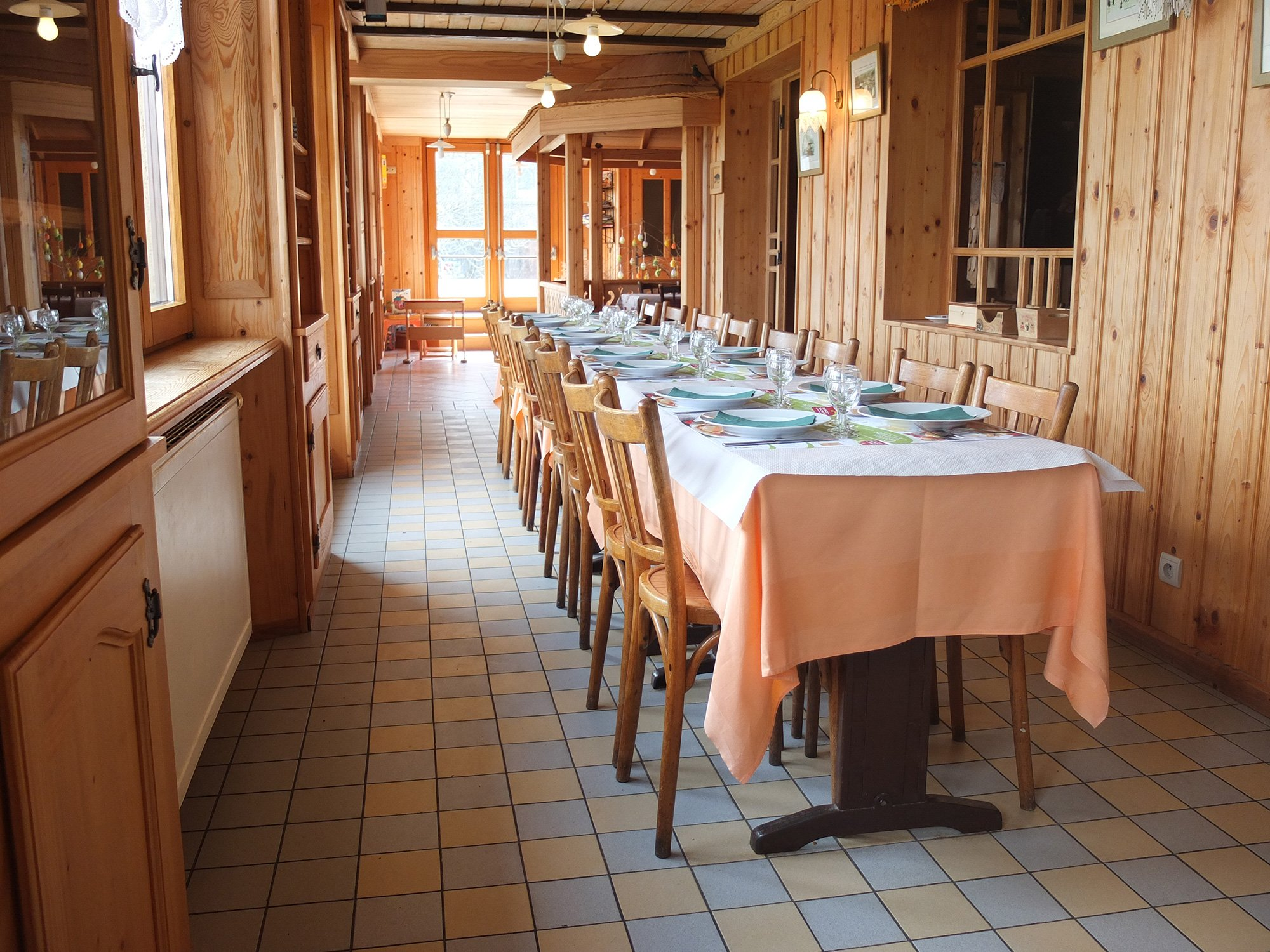 salle à manger auberge doubs